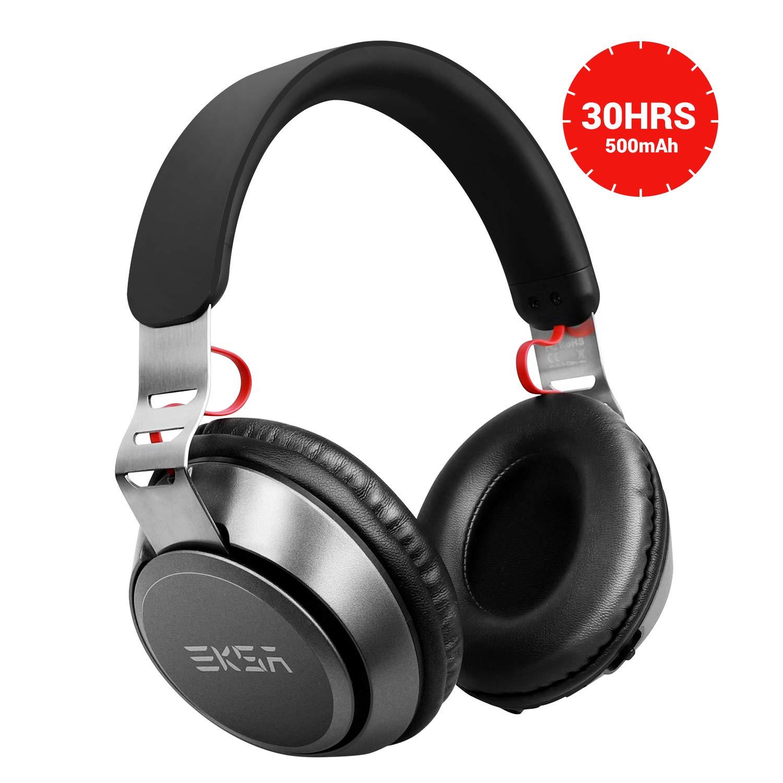 EKSA Bluetooth Kopfhörer 30 Stunden Spielzeit Kabelloses Over Ear Headset