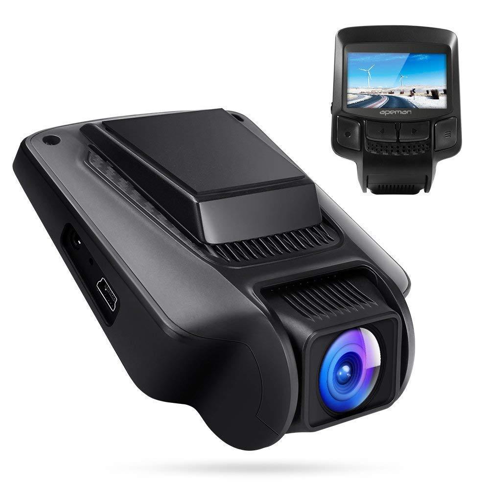 APEMAN Dashcam Auto Kamera WiFi Full HD 1080P Autokamera