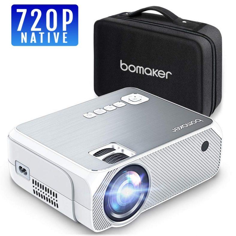 Beamer Native 720P Auflösung 3000 Lumen mit tragbarer Tasche