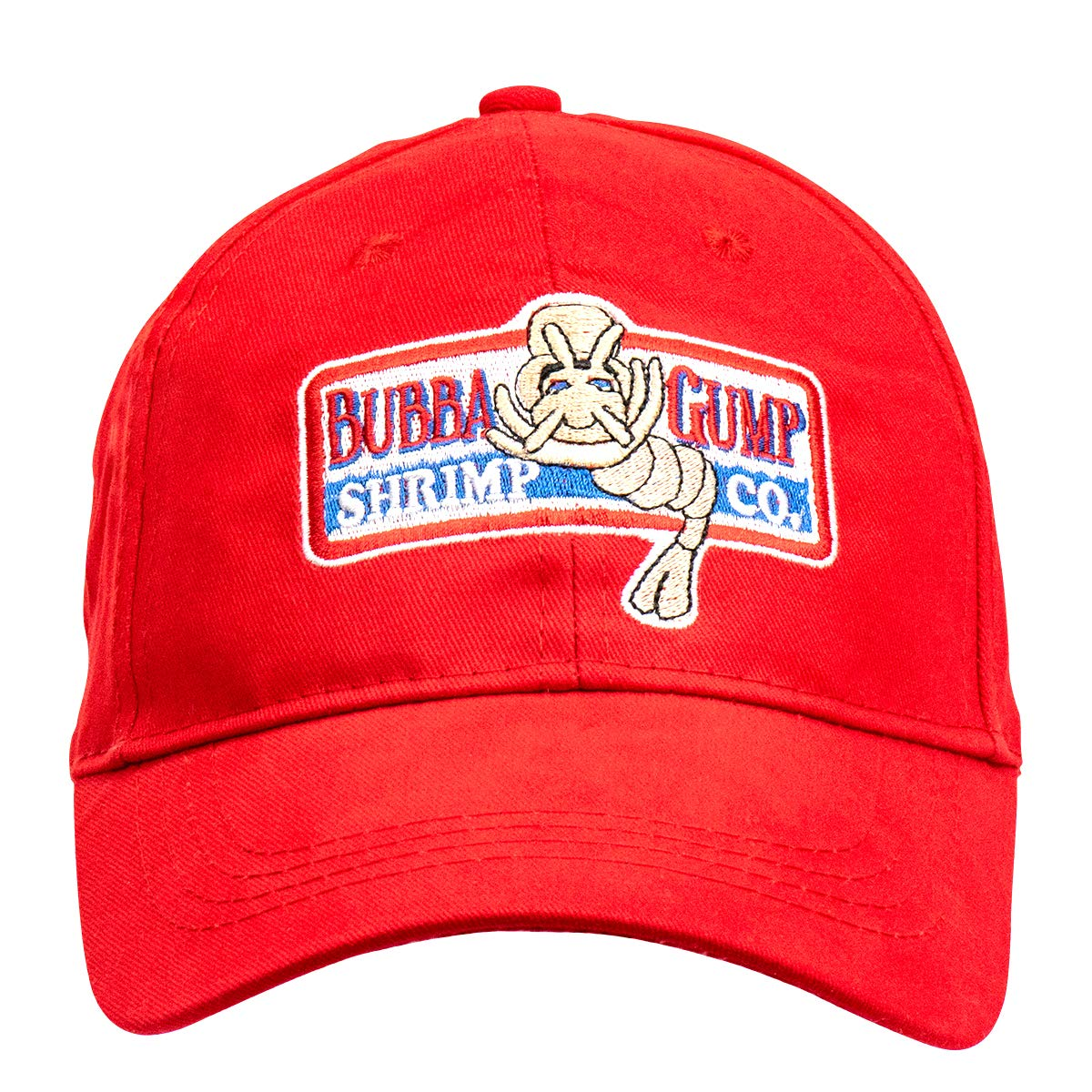 Lackingone Unisex Forrest Gump Cap Flat-Edge Red Baseball Cap