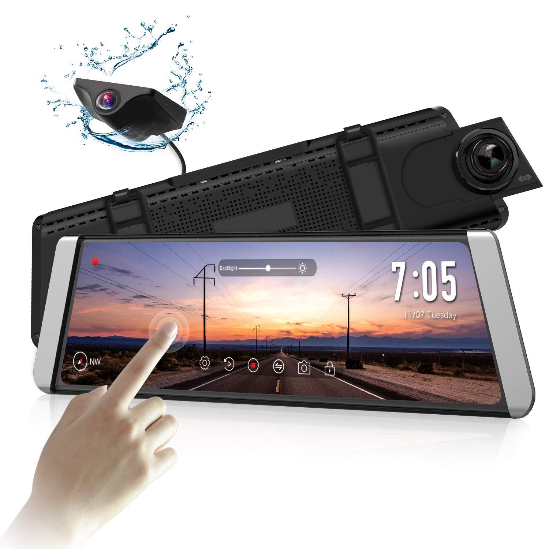 AUTO-VOX X1 DashCam Spiegel mit AHD Backup-Kamera-Kit