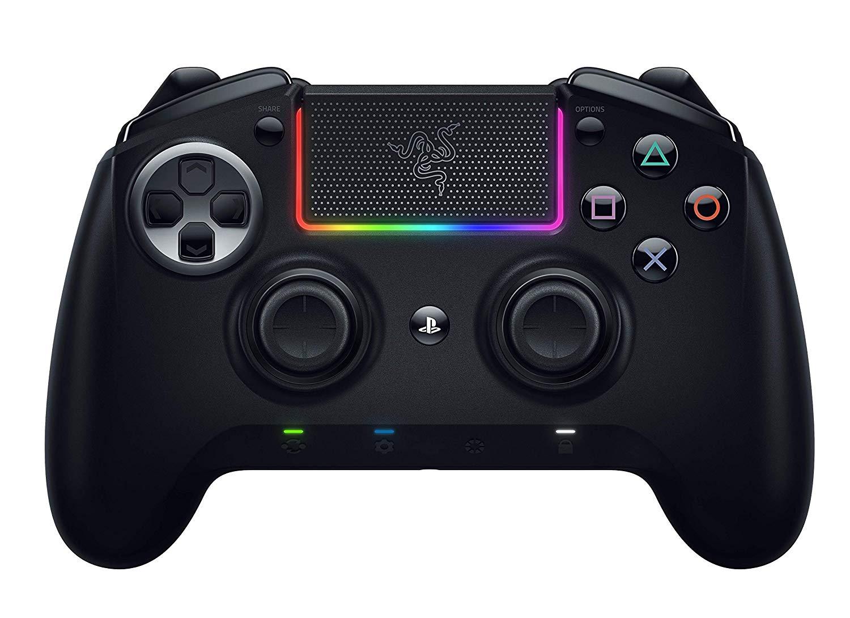 Razer Raiju Ultimate 2019 – Kabelloser und kabelgebundener PS4/PC Gaming-Controller