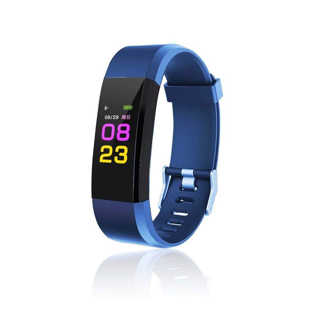 Oikiler Multifunktions Tracker Smart Fitness Armband Pulsmesser Fitness Track Armbänder