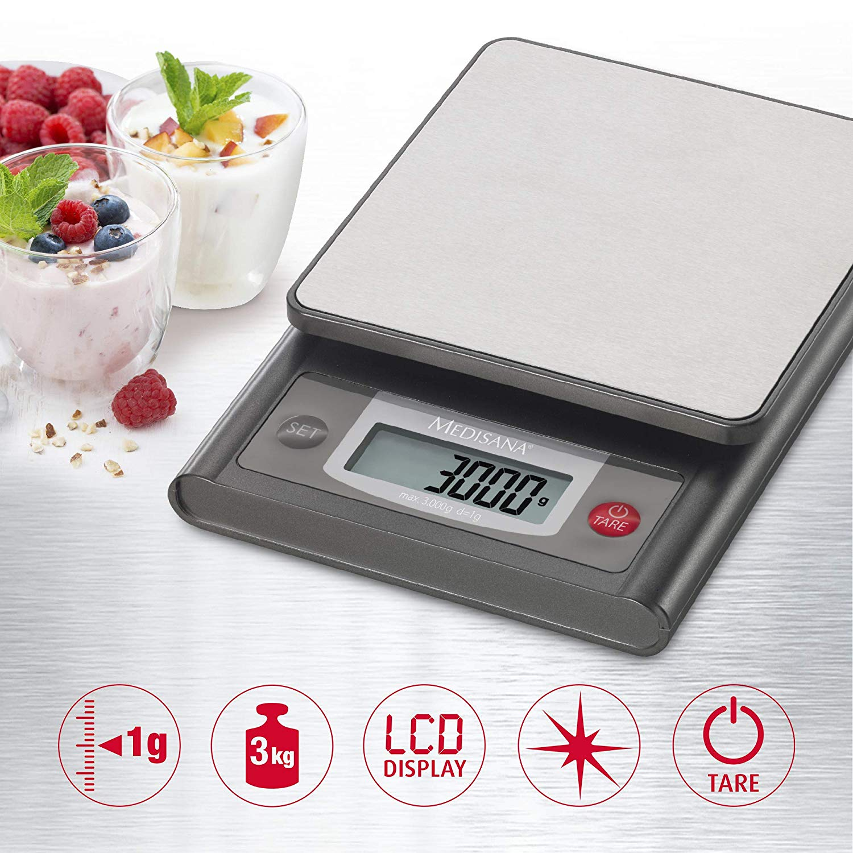 Medisana KS 200 digitale Küchenwaage