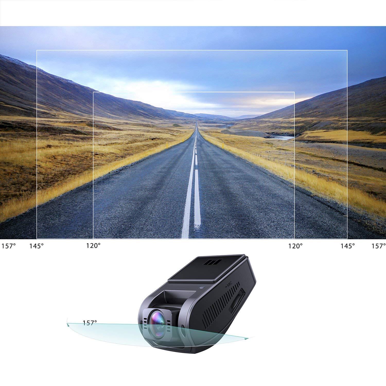 AUKEY Autokamera 4K HD Dash Cam 157° Weitwinkelobjektiv