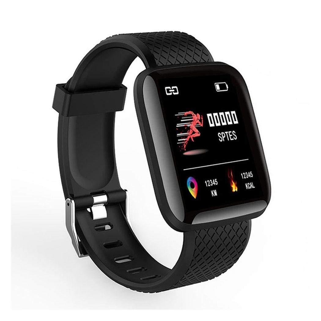 onisjun Wasserdichtes Bluetooth-Sport-Smart-Armband-Armband Fitness-Tracker Smartwatches