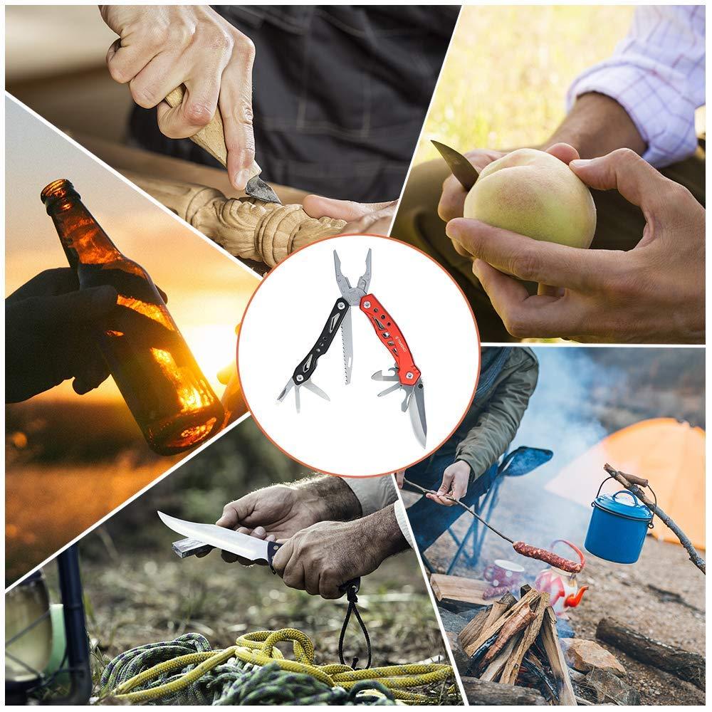 Multitool Zangen Set, Außen Notfall Survival Kit, Outdoor Tools