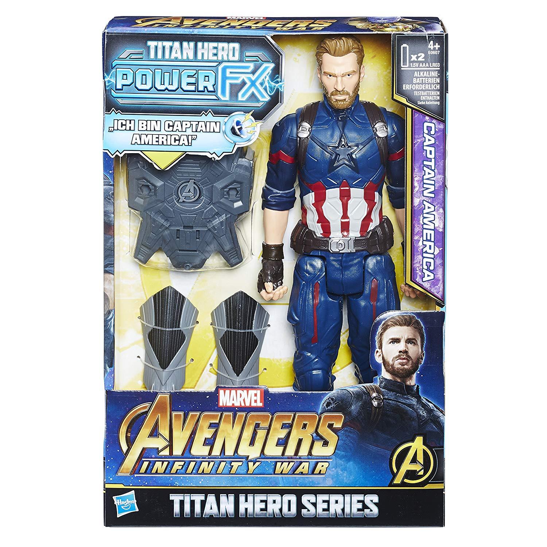 Hasbro Avengers Marvel Titan Hero Power FX Captain America