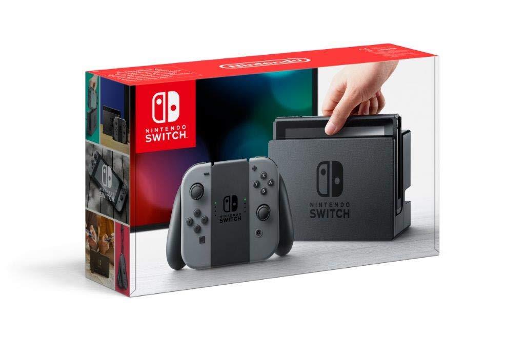 Console Nintendo Switch avec paire de Joy-Con – gris