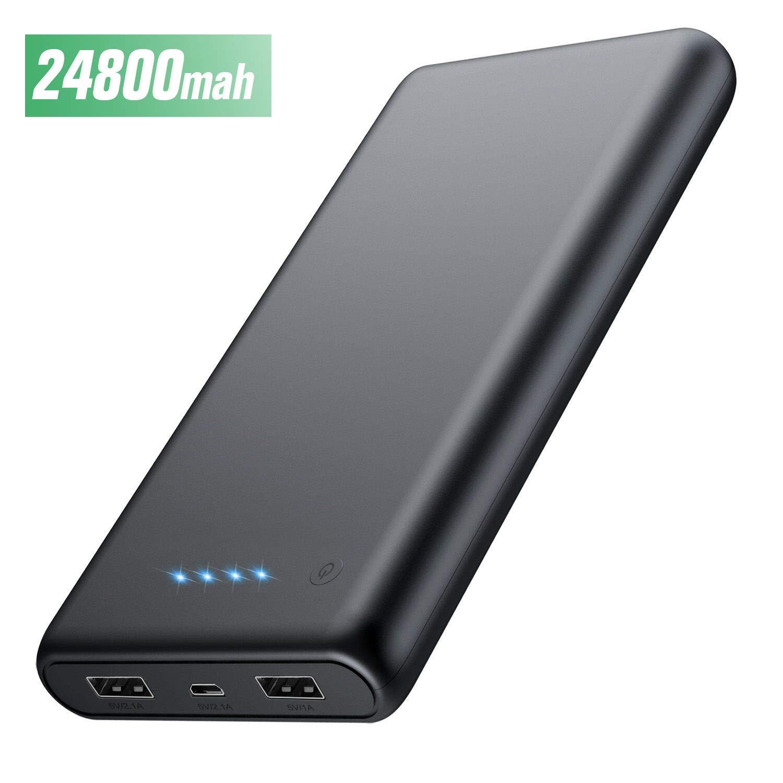 HETP Powerbank 24800 mah Externer Akku Power Pack Ladegerät