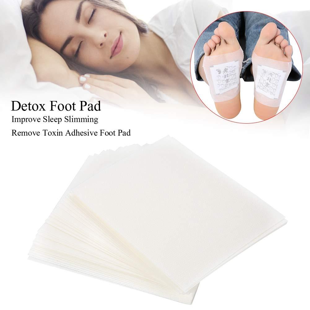 50 Stück Gesundheits-Fußaufnäher, Fußkissen zum Abnehmen und Entfernen von Giftstoffen und zum Schlafen