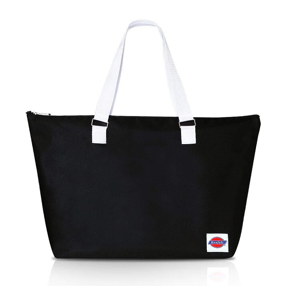 KEAFOLS Einkaufstasche Große Handtasche Wiederverwendbare Einkaufsbeutel Shopper Bag