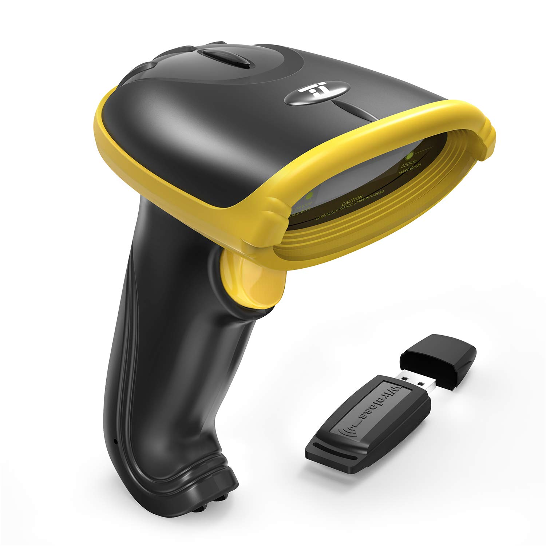TaoTronics 2-in-1 2.4GHz Kabelloser & Kabelgebundener USB Barcode Scanner