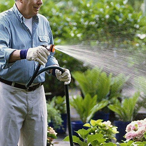 TACKLIFE Gartenbrause, Garten Handbrause Einhandbedienung