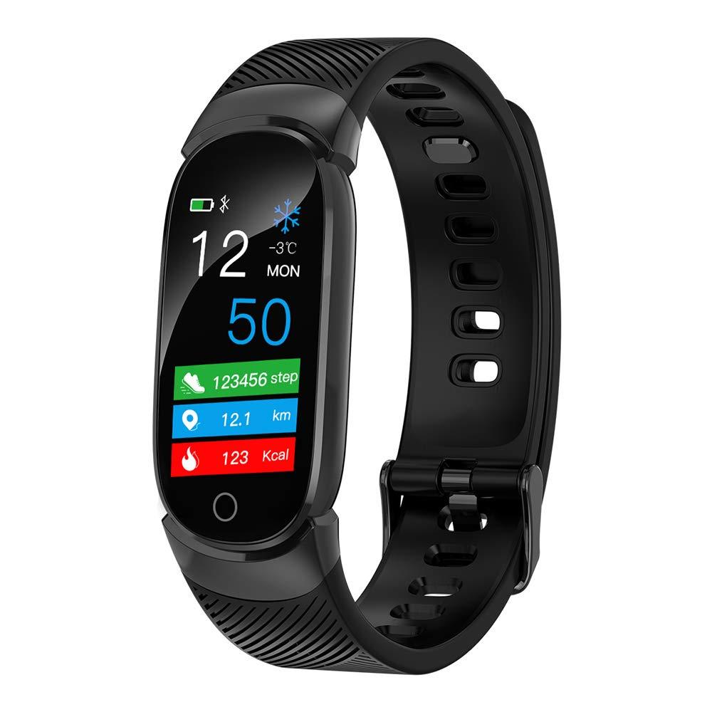 QiyuanLS Fitness Tracker Armband Wasserdichtes Bluetooth Aktivitätstracker Uhr