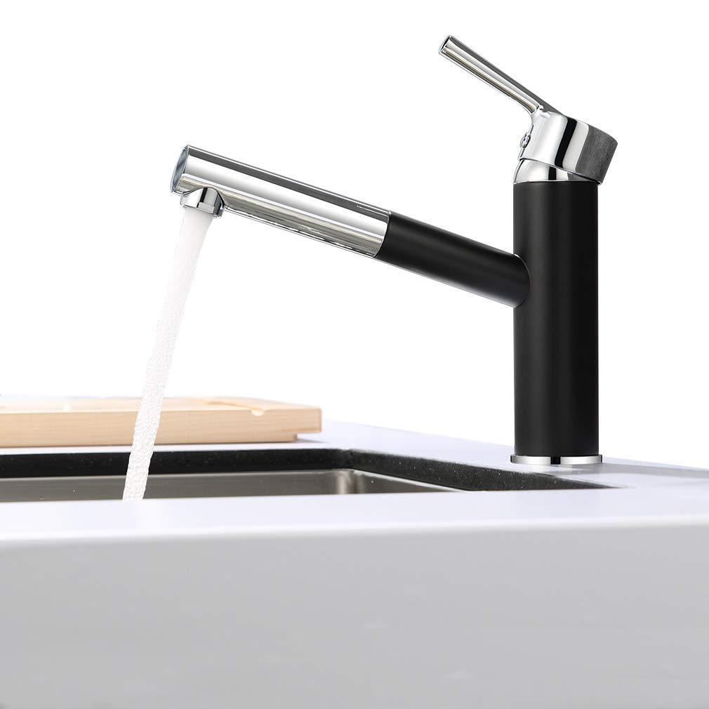 69,90€ - ubeegol ausziehbar küchenarmatur schwarz