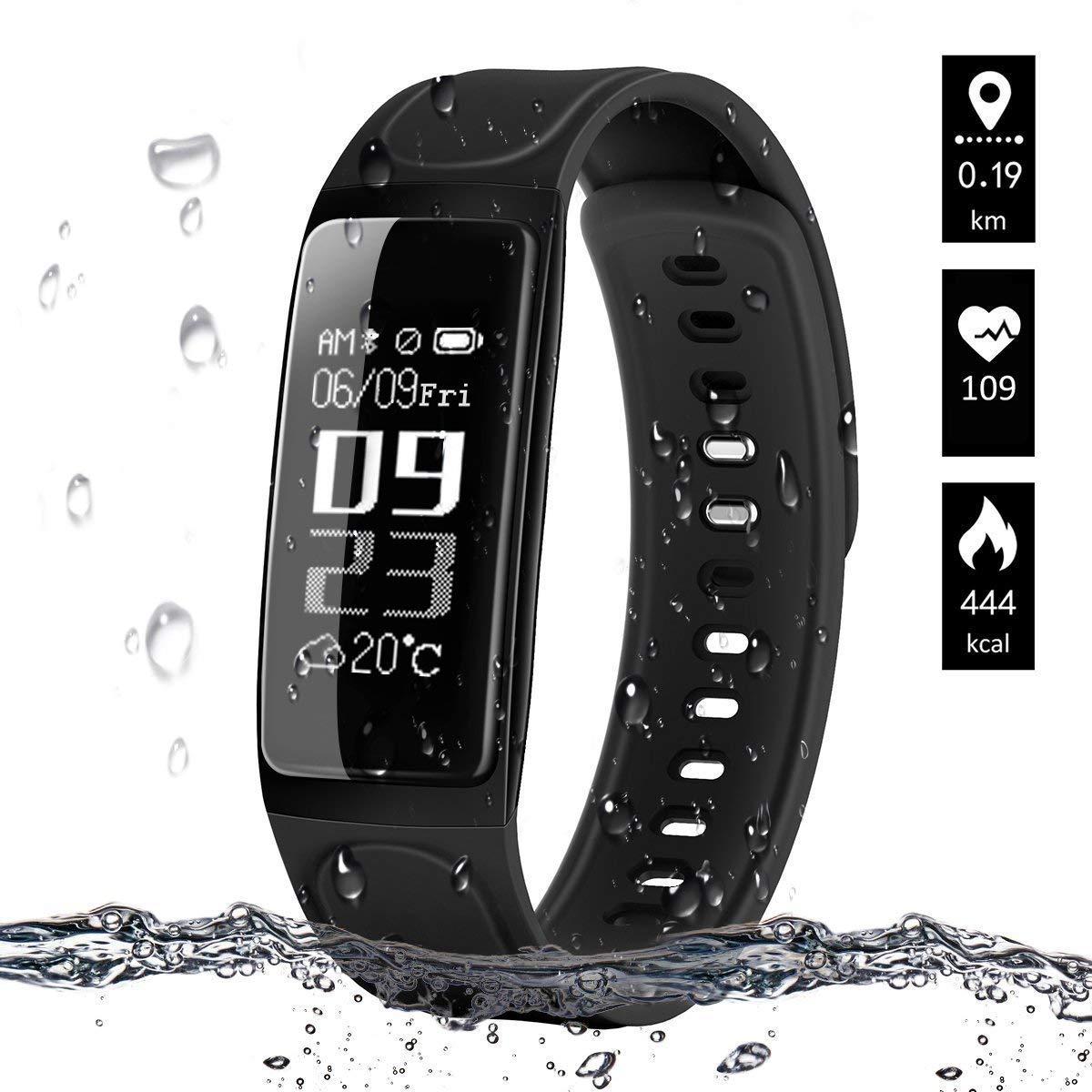 ELEGIANT Fitness Tracker, Fitness Armband Aktivitätstracker Schrittzähler Uhr Sport Watch