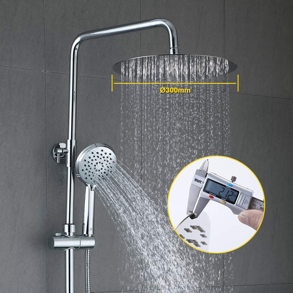 Homelody Duschsäule 3-Funktionen Duschsystem Duschset