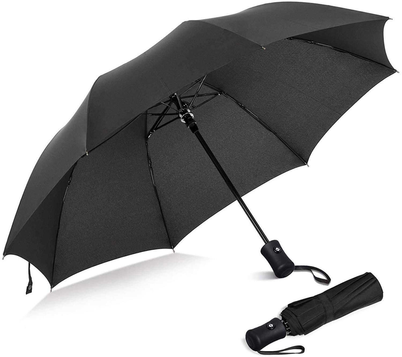 Regenschirm | Taschenschirm | Sturmfest Automatik Reise Schirm