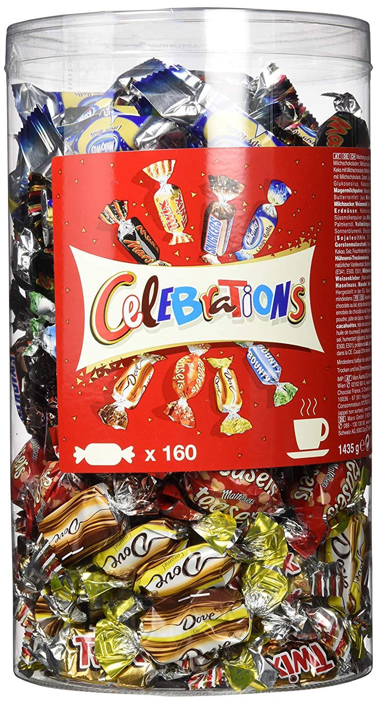 Celebrations Blisterbox, 1,4 kg Multipack mit 160 Pralinen