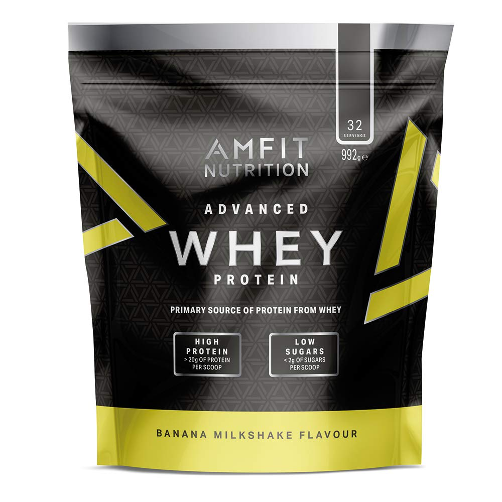 Amazon-Marke: Amfit Nutrition Advanced Whey Protein Eiweißpulver