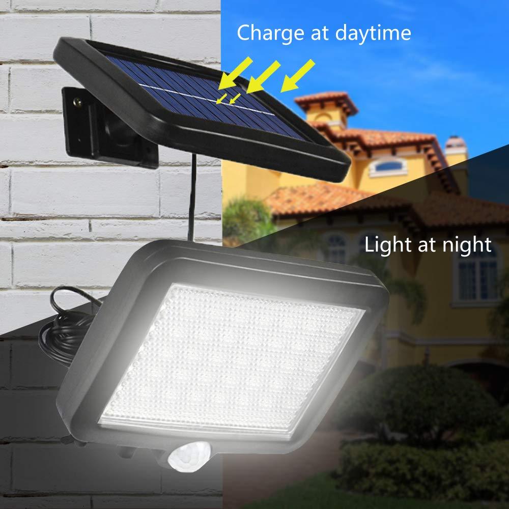 Jorft 56 LED Solarlampen für Außen