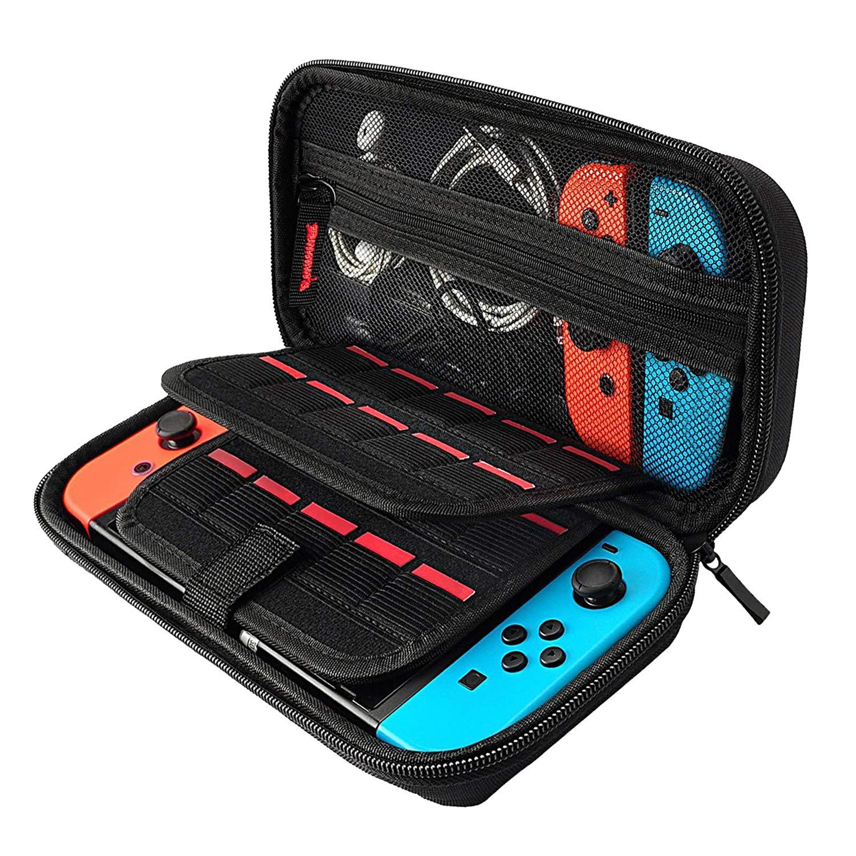 Tasche für Nintendo Switch , Welltop Tragetasche Schutzhülle Reise Hülle Case