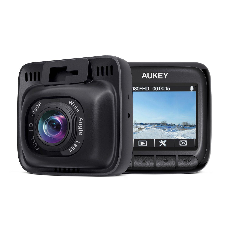 AUKEY Dashcam Full HD 1080P Autokamera mit 170° Weitwinkel