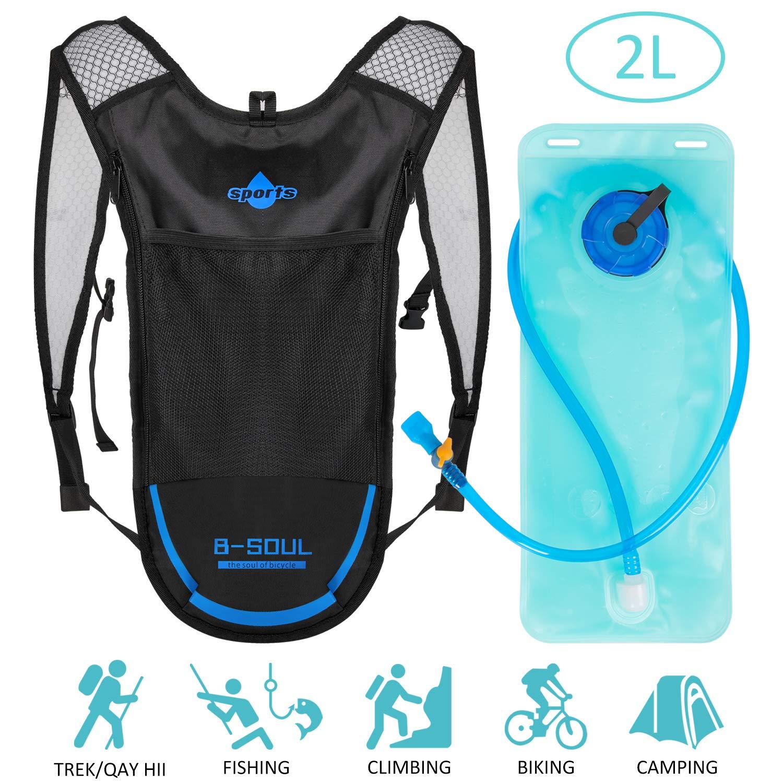 Shayson Trinkrucksack Hydrationspack mit 2L Trinkblase Fahrradrucksack