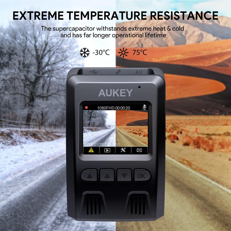 AUKEY Dashcam 1080P Kompakte Autokamera