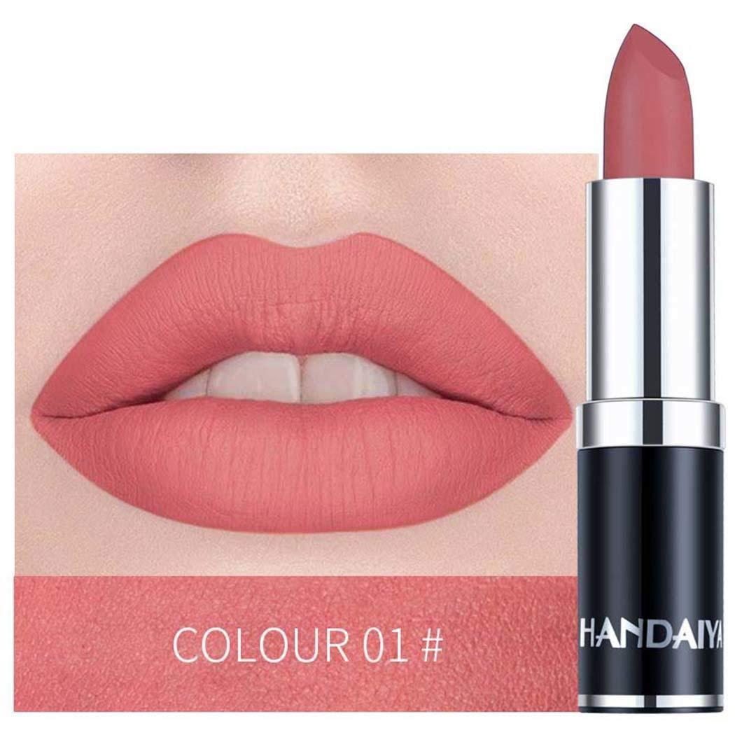Jintes Make up kosmetische Matte langlebige wasserdichte Soft Creme Lippenstift Lipgloss
