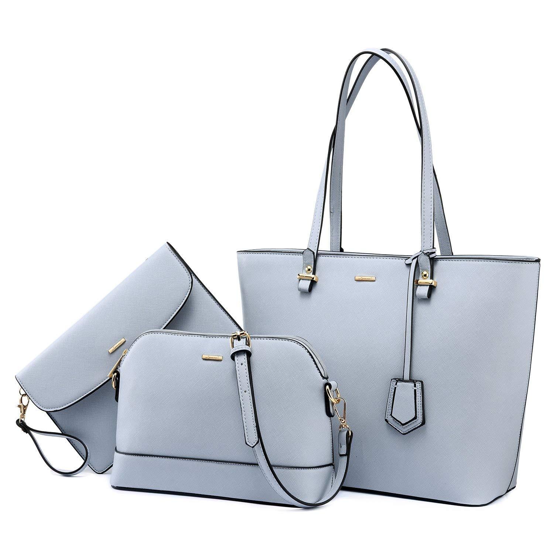 Handtaschen Damen Schultertasche Tragetasche Umhängetasche Hobo Set