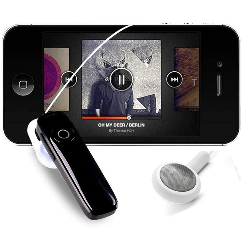 Jintes Bluetooth Headset mit Anschlüssen USB Wireless Bluetooth Kopfhörer
