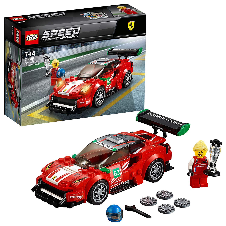 LEGO Speed Champions 75886 – Ferrari 488 GT3, Rallyeauto