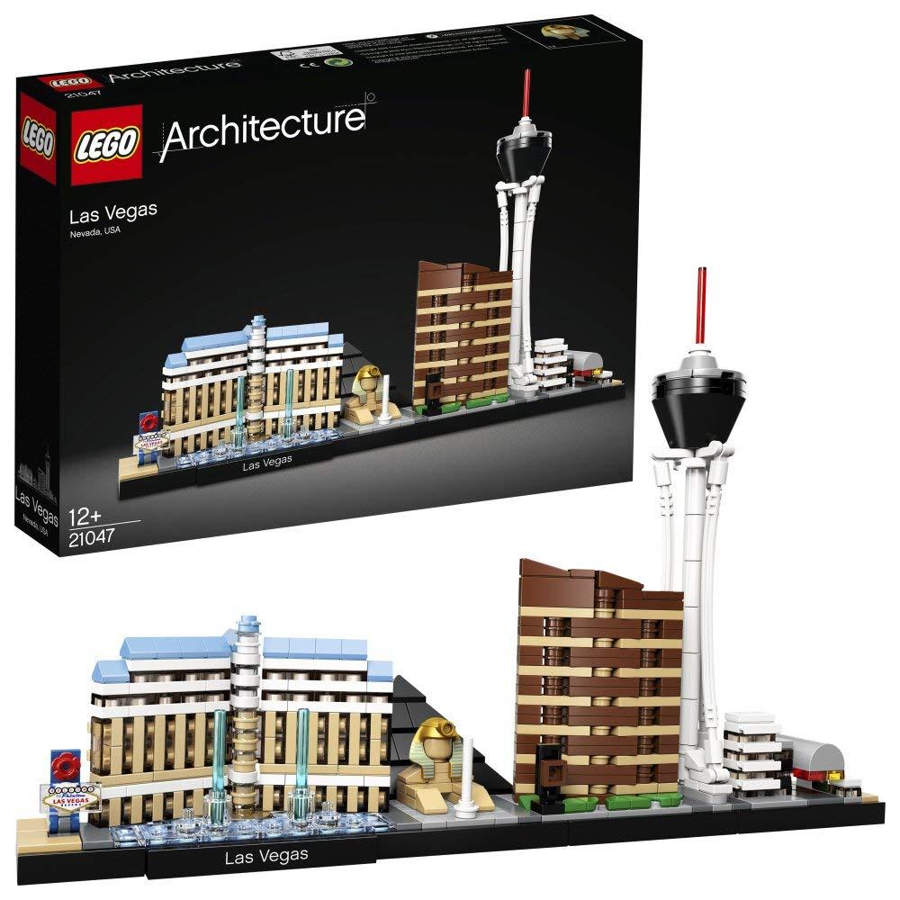 LEGO Architecture 21047 – Las Vegas, Bauset