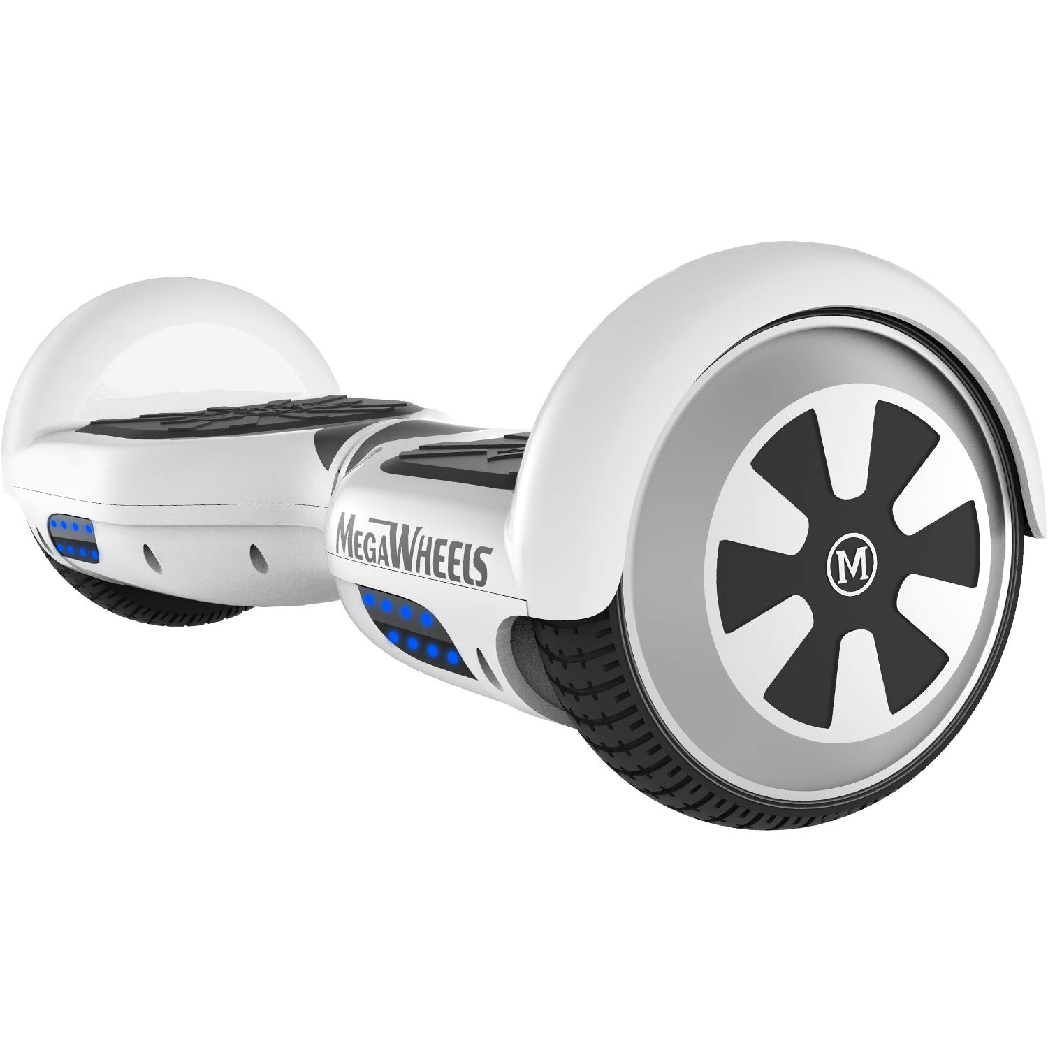 M MEGAWHEELS Hover Boards, 6.5″ Self Balance Bluetooth Scooter mit 2 * 250W Motor, LED Lights Elektro Scooter