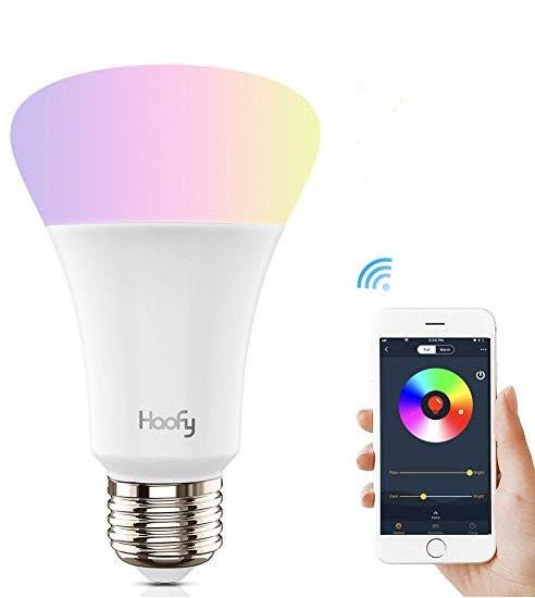 Haofy – WiFi Smart RGB LED Lampe