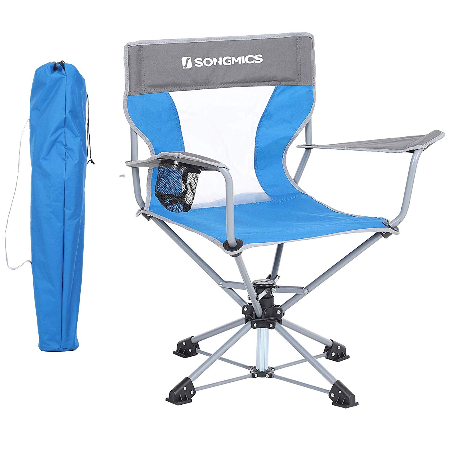 17,09€ SONGMICS Campingstuhl, klappbarer Outdoor Stuhl
