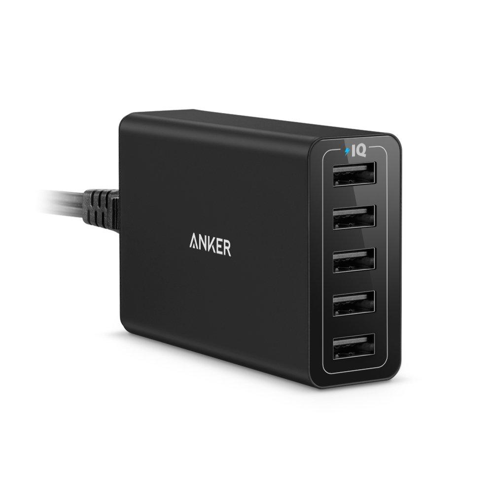 Anker PowerPort 40W 5-Port USB Ladegerät Multi-Port USB Ladegerät