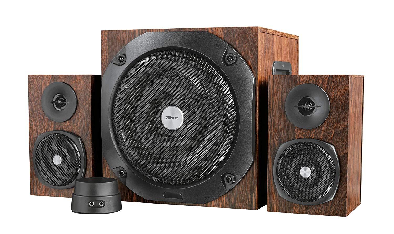Trust Vigor 2.1 Holz Bluetooth Lautsprecherset