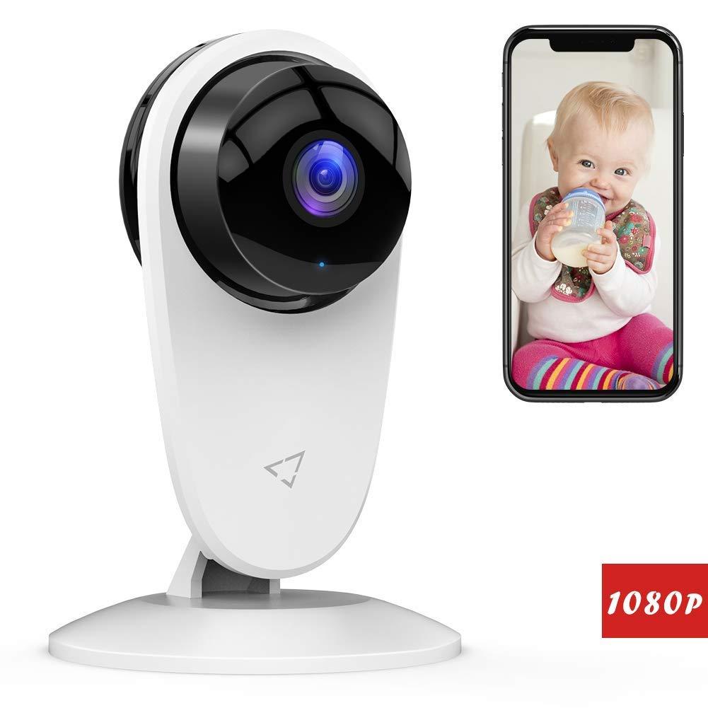 Victure 1080P WLAN Kamera Überwachungskamera Ton/Bewegungserkennung