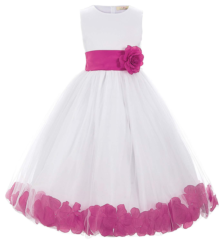 KARIN Prinzessin Blumenmaedchen Kleid Party Kleid Festliche Kinderkleider