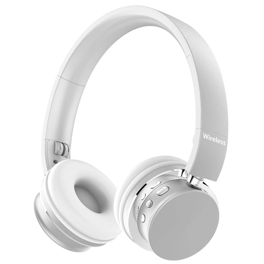 Bluetooth Kopfhörer Faltbarer Kopfhörer Einstellbar Schwere Bässe Kopfhörer