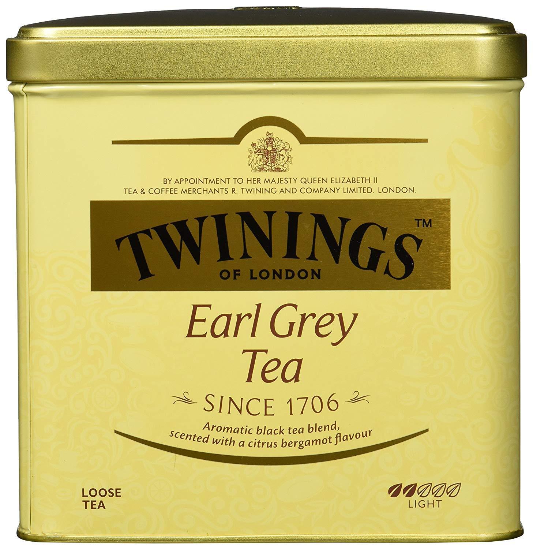 Twinings Earl Grey große Dose – hochwertiger Schwarzer Tee lose