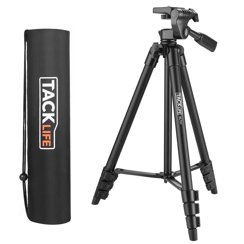Tacklife MLT01 136cm Aluminium Kreuzlinienlaser Kamera Stativ
