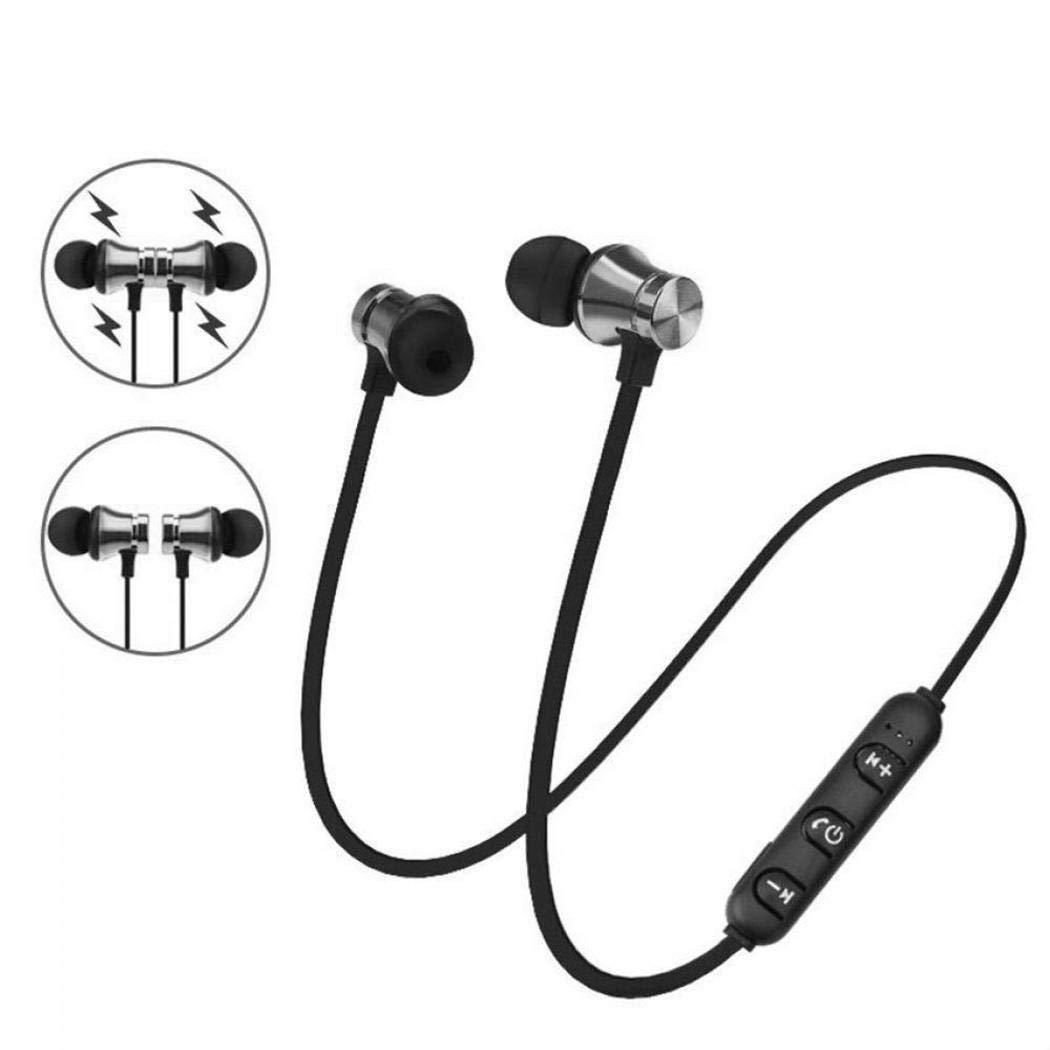 Wireless HiFi Ohrhörer In-Ear Bluetooth Sport Kopfhörer PC-Headsets