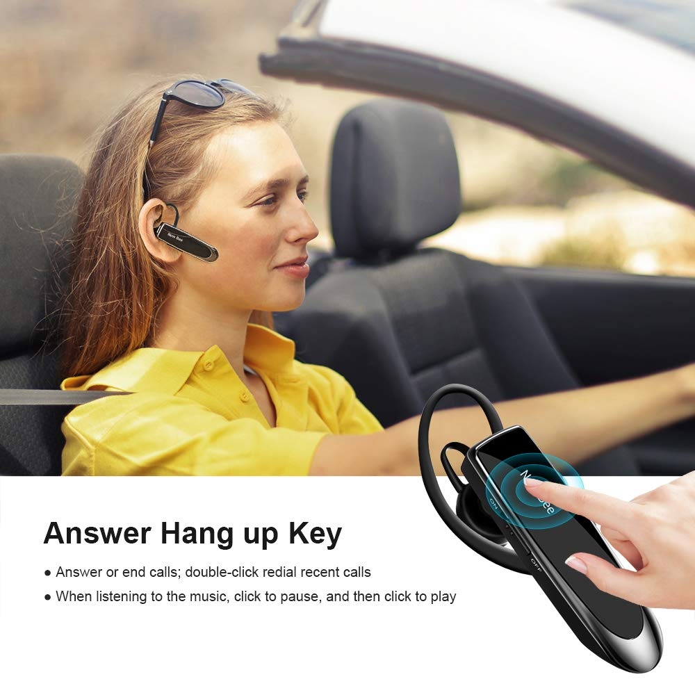 New Bee Bluetooth Headset Wireless Headset Bluetooth Freisprechen
