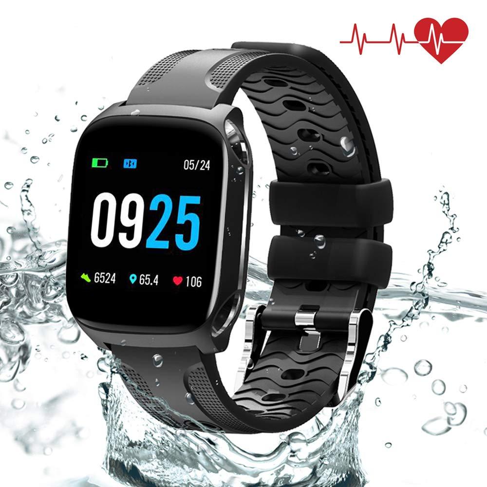 QiyuanLS Fitness Tracker mit Pulsmesser Herren & Damen Aktivitätstracker