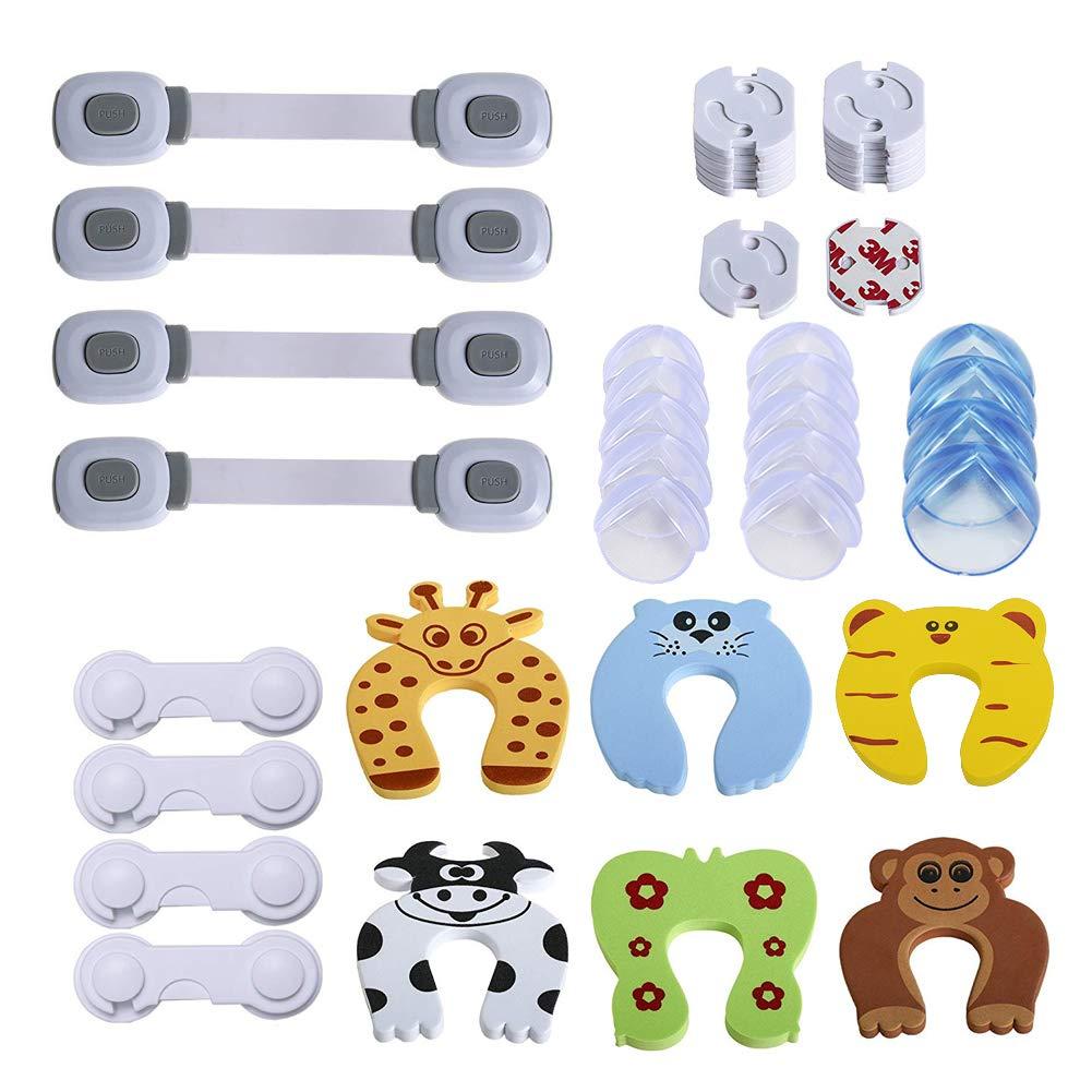 YIKANWEN Baby Sicherheits Set, 42 Teile Set für Kindersicherung