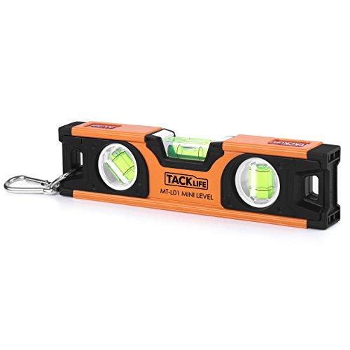Wasserwaage 20 cm MT-L01 mit Magnet und horizontaler, Vertikaler und 45-Grad-Libelle